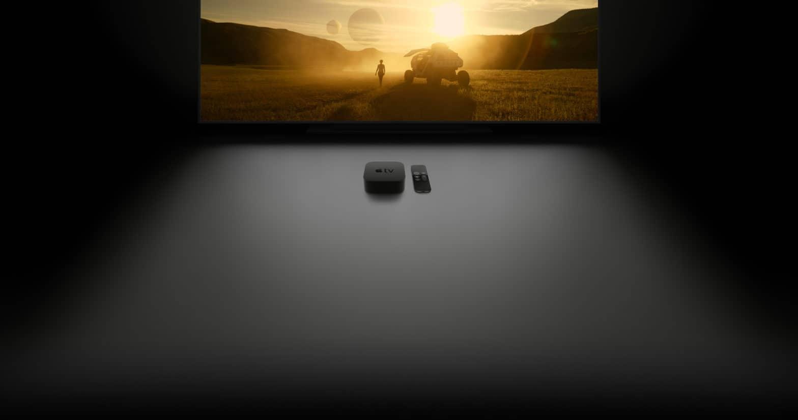 Apple TV with TV on screen not sleeping