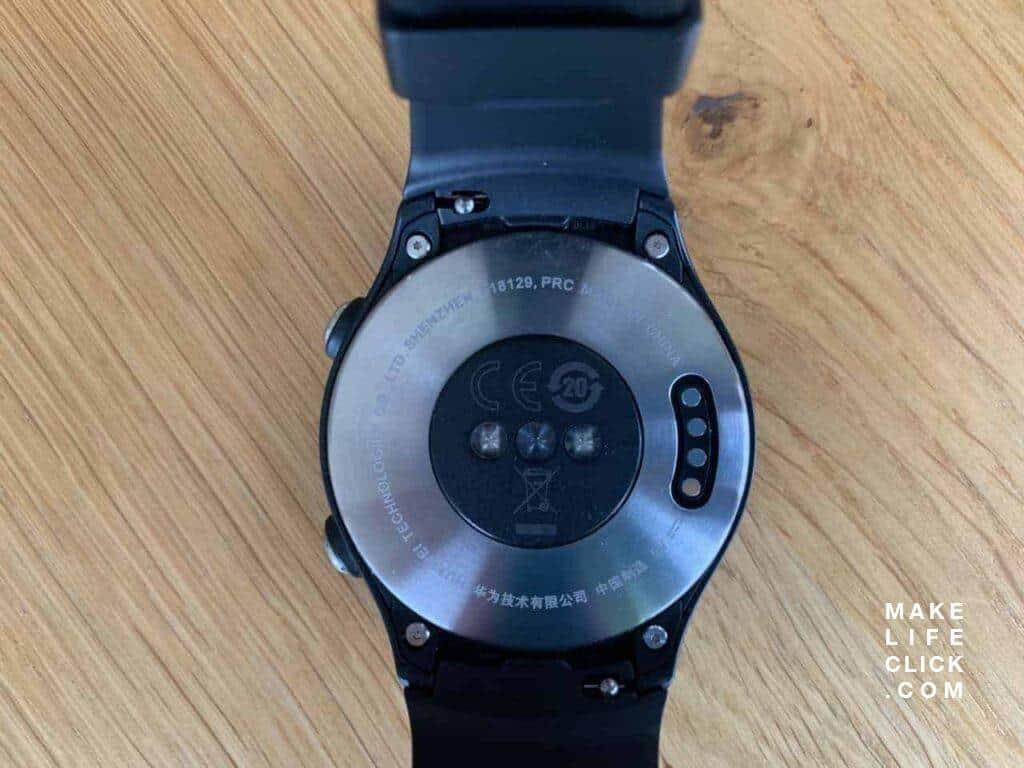 Huawei Watch 2 Sport LTE Back View