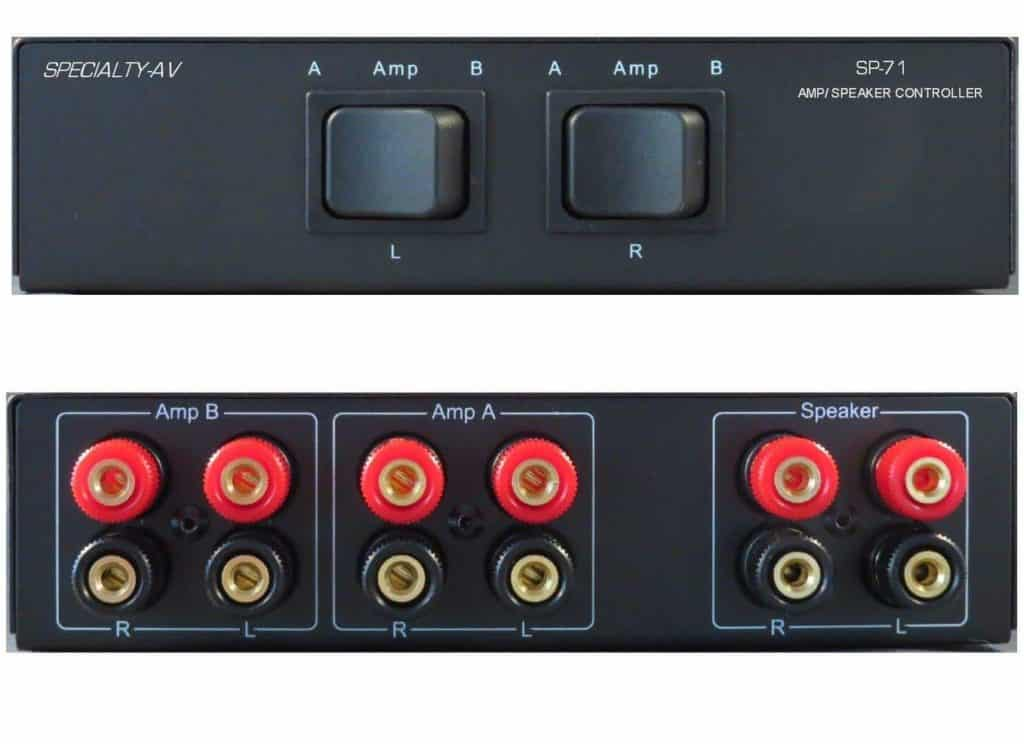Specialty AV Amplifier Switching Unit