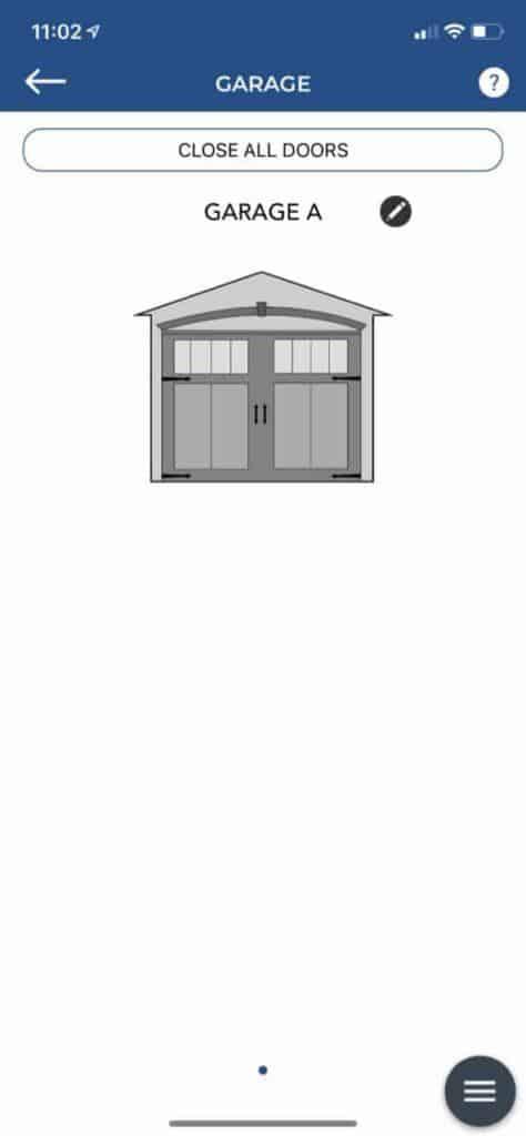 Tailwind iQ3 App Garage Doors