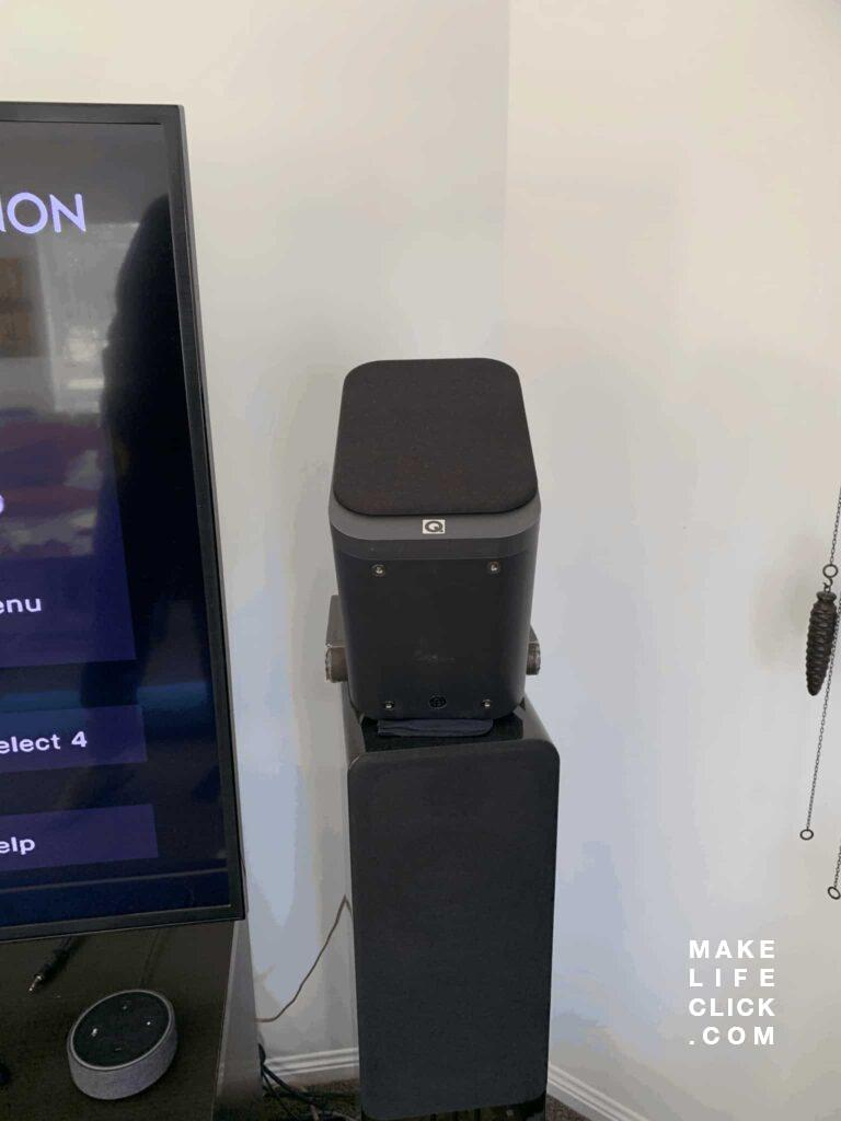 Denon AVR-4500h with Dobly Atmos height Speakers up-firing