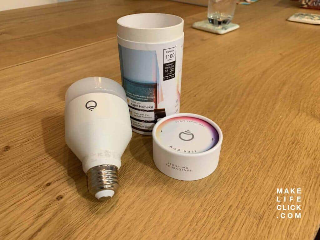Lifx A19 packaging back