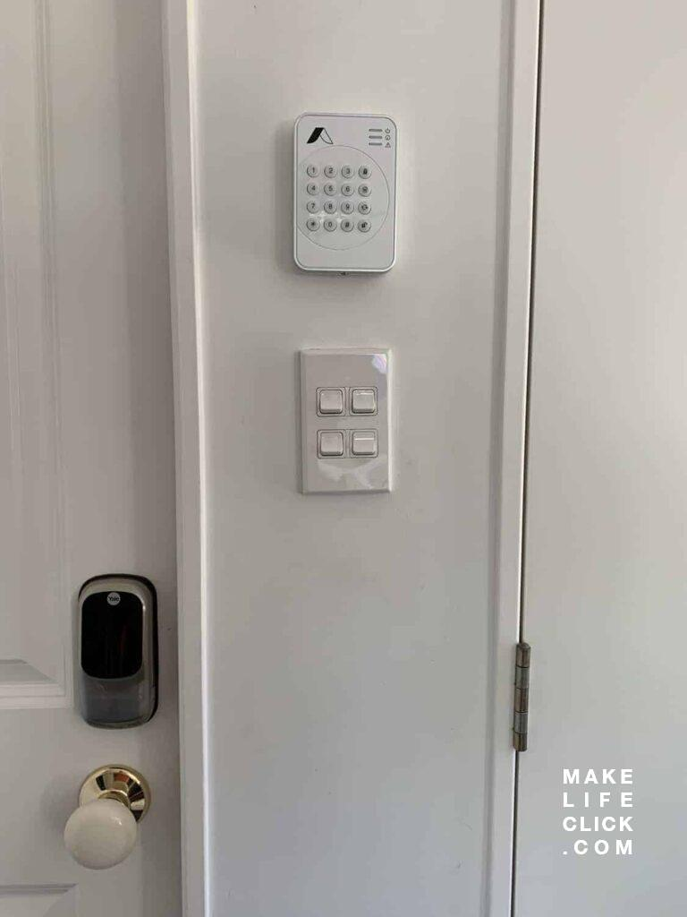 Abode Security System Pin Pad. There is a new model of this