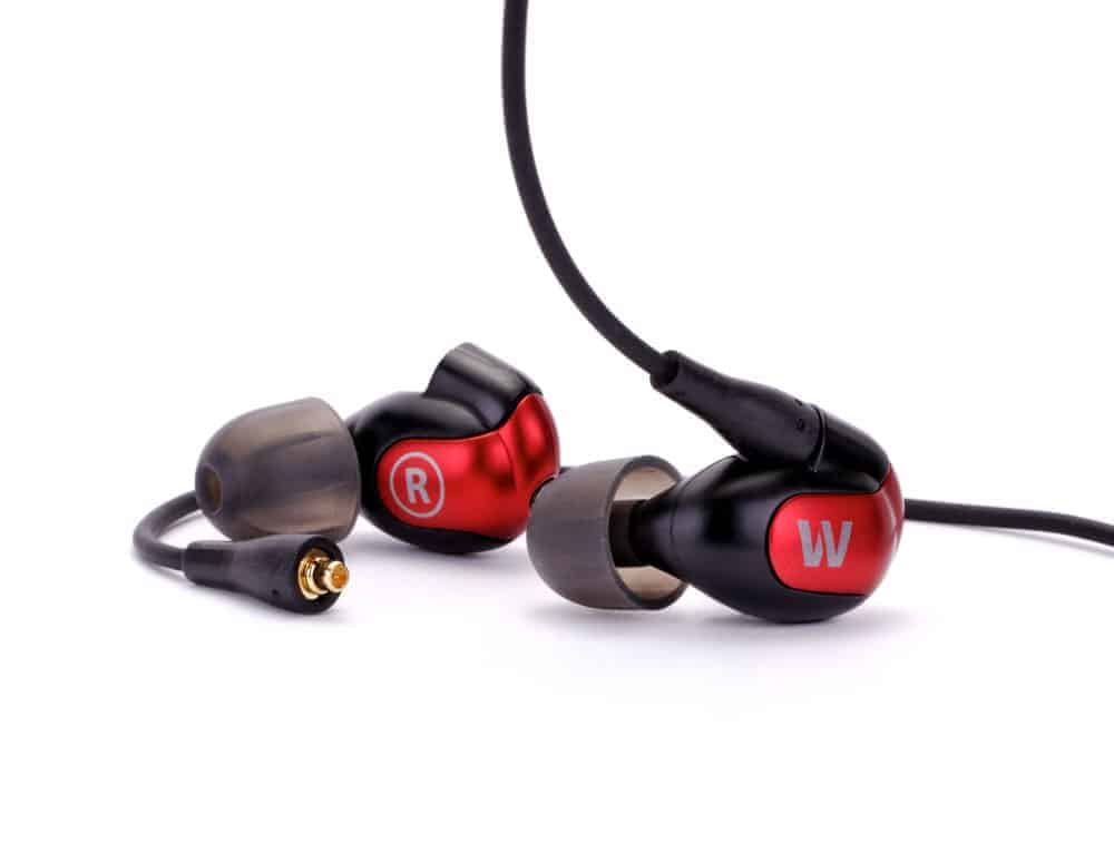 Westone W50 Red Faceplate