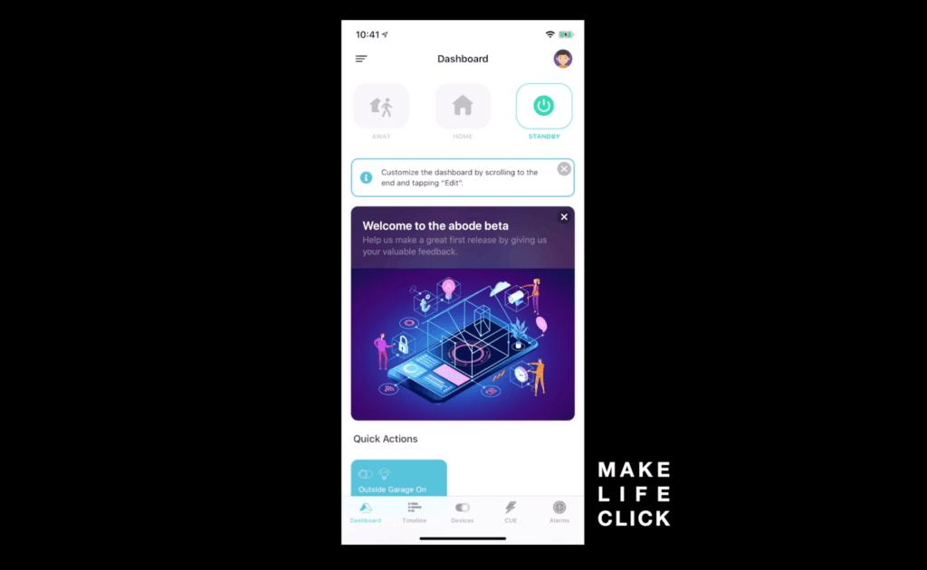 Abode App Preview 5.0 Screenshot