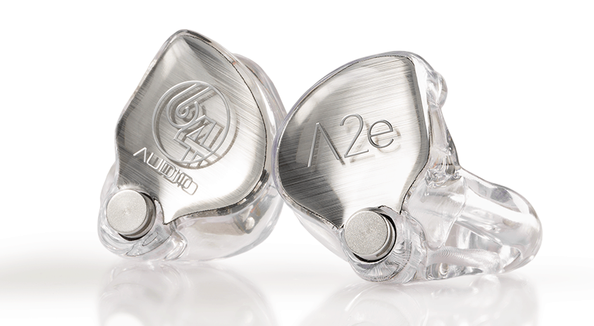 64 Audio A2e Custom in-ear monitors