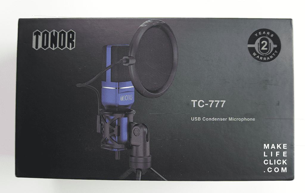 Tonor Microphone Retail Box