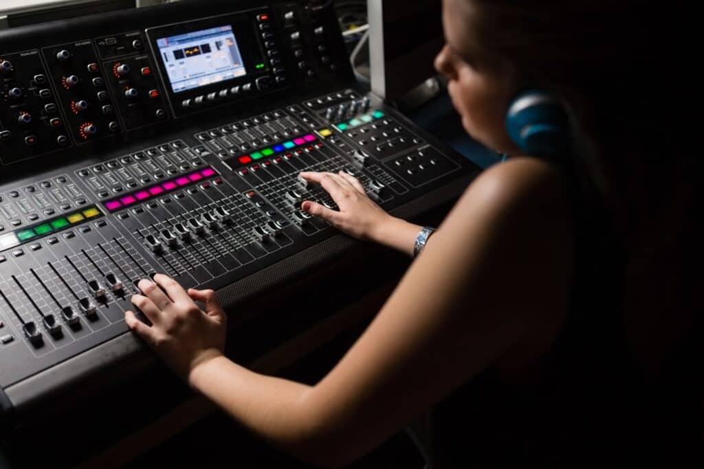 Audio Mixing Headphones