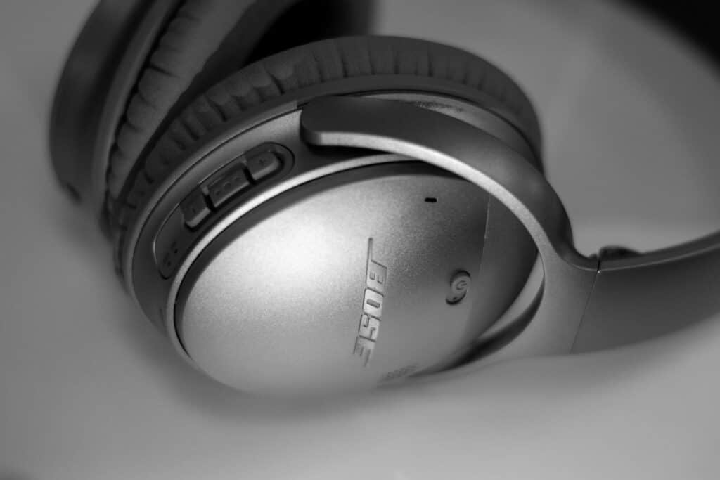 Bose Active Noise Cancelling Headphones is one of the different types of headphones
