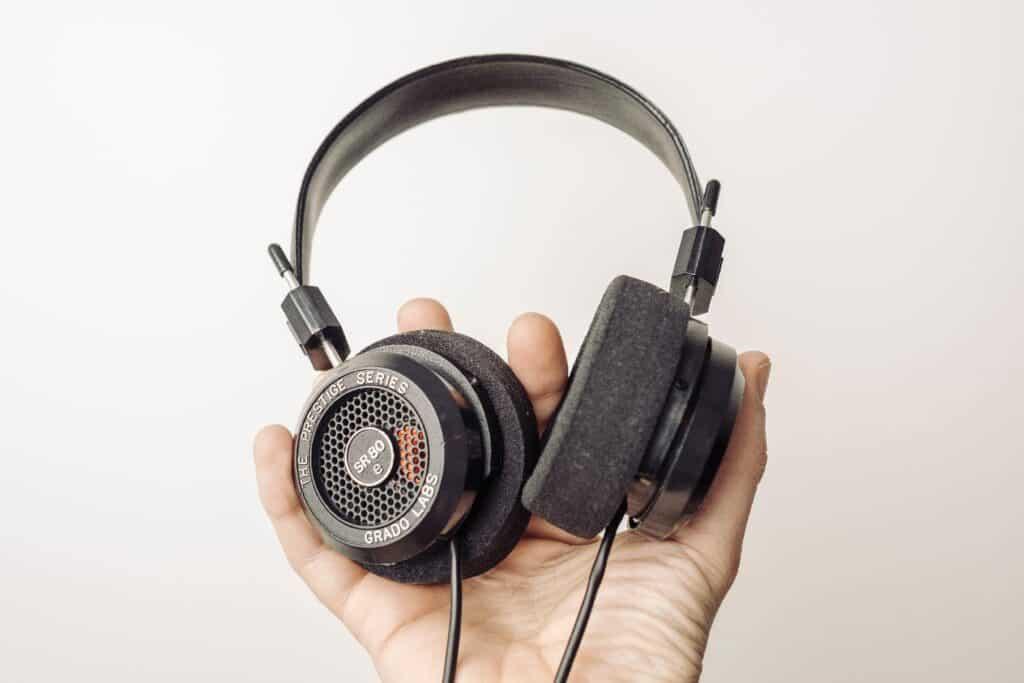Grado open-back headphones