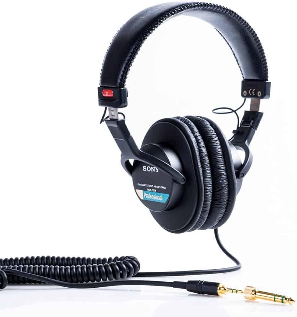 Sony MDR7506 Large Diaphragm Headphones