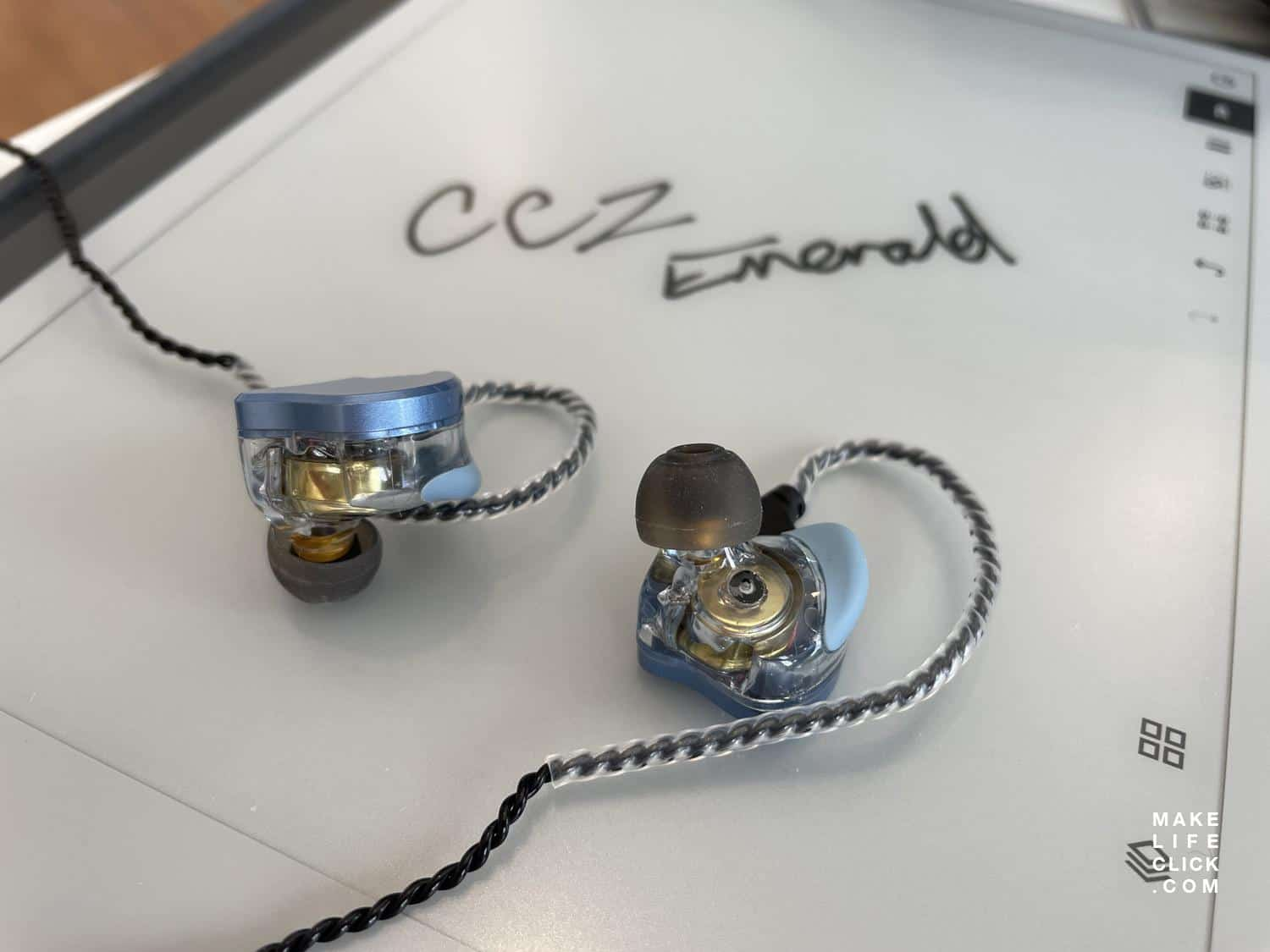CCZ Emerald on Remarkable tablet